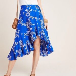 Anthropologie✨Faithfull the Brand Esten Wrap Skirt